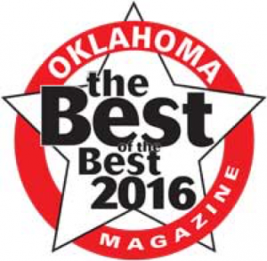 "We're so proud to have won three of Oklahoma Magazine's ""Best of the Best"" awards!"