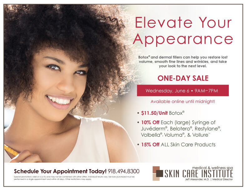 Join us on june 6th for Injectable Day!