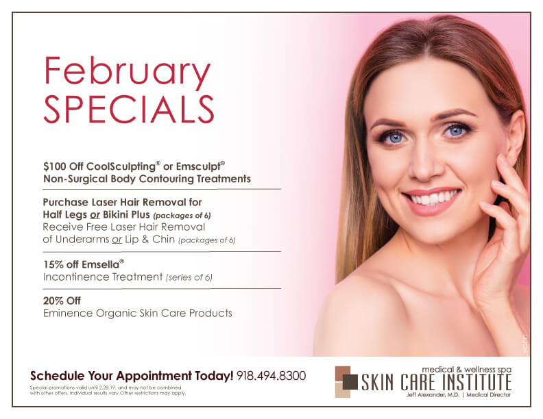 Check out Skin Care Institute's November Specials 2018!