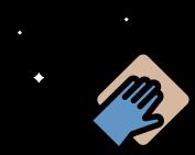 sanitizing surfaces icon