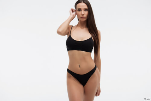woman looking skinny after coolsculpting